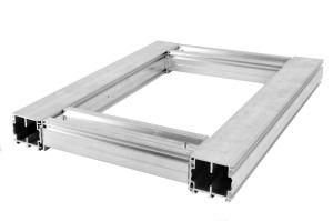 Aluminium-Rahmen 6055
