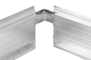 Aluminium-Detail Eckverbinder